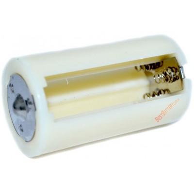 Переходник с 3-х АА аккумуляторов на аккумулятор D (R20).