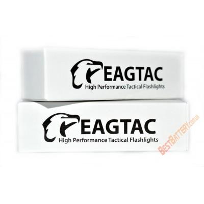 Литиевый аккумулятор EagleTac 18650 ёмкостью 2500 mAh с платой защиты.
