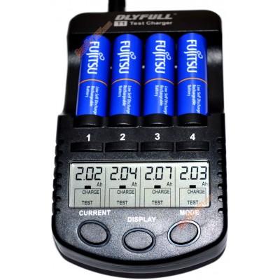Пальчиковые аккумуляторы Fujitsu 2000 mAh (min 1900 mAh), версия HR-3UTI в боксе. Цена за уп. 4 шт.