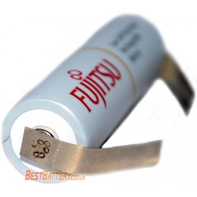 Пальчиковые аккумуляторы Fujitsu 2000 mAh (min 1900 mAh) c лепестками (под пайку). Цена за 1 шт.