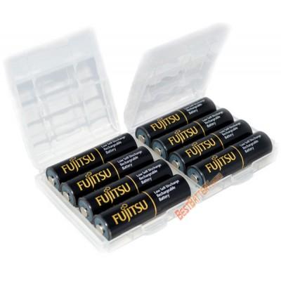 Зарядное устройство Liitokala Lii-NL4 и 4 пальчиковых аккумулятора Fujitsu 2550 mAh в боксе.