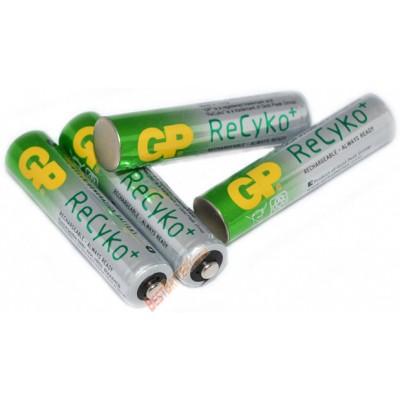 Минипальчиковые аккумуляторы GP ReCyko+ 800 mAh (AAA) - новое поколение аккумуляторов от GP. Цена за уп. 4 шт.