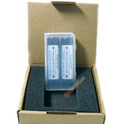 Li-ion аккумулятор Keeppower 18650 2900 mAh с защитой от перезаряда, переразряда и от неправильной полярности.