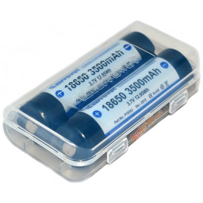 Li-Ion аккумулятор KeepPower 18650 на 3500 mAh с платой защиты. Ver. 2015.