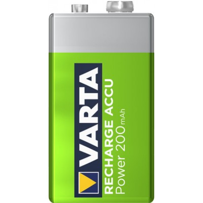 Аккумулятор типа Крона Varta 9V 200 mAh, Ni-Mh, низкосаморазрядные (LSD).