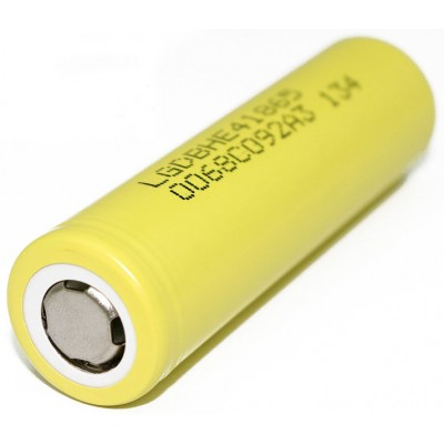 Высокотоковый Li-Ion аккумулятор LG HE4 2500 mAh 20A (30A). Оригинал, Корея.
