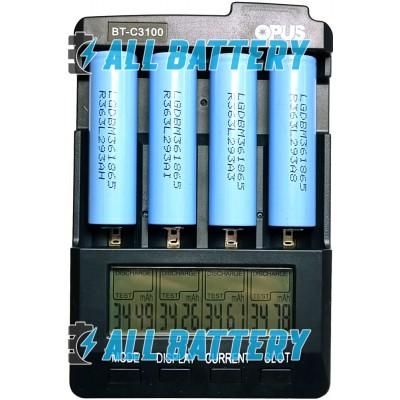 Аккумулятор 18650 LG INR18650 M36 3600 mAh Li-ion 3.7В (4.2В) без защиты, 10A. Оригинал.