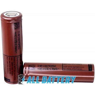 Высокотоковый Li-Ion аккумулятор LG HG2 3000 mAh 20A (30А). Оригинал, Корея. Для E-сигарет.