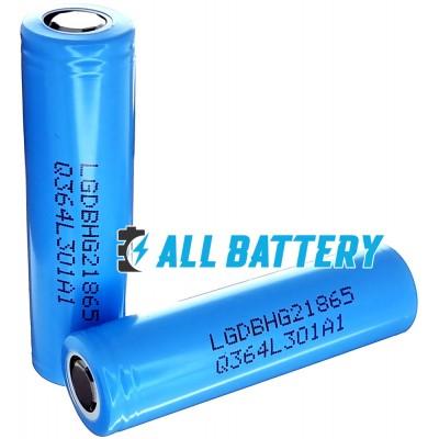 Аккумулятор 18650 LG HG2L 3000 mAh Li-ion INR, 3.7В. Высокотоковый - 20А (30А). Аналог LG HG2. Оригинал - Korea.