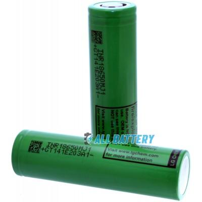 Li-ion аккумулятор LG INR18650MJ1 3500 mAh 3,7V без защиты (промышленный) с током разряда до 10A.