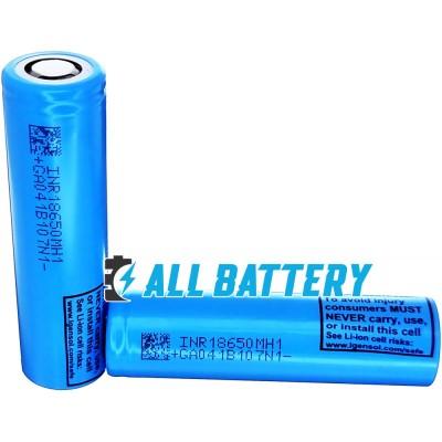Аккумулятор 18650 LG INR18650 MH1 3200 mAh 3,7В Li-Ion без защиты (промышленный), ток до 10A.