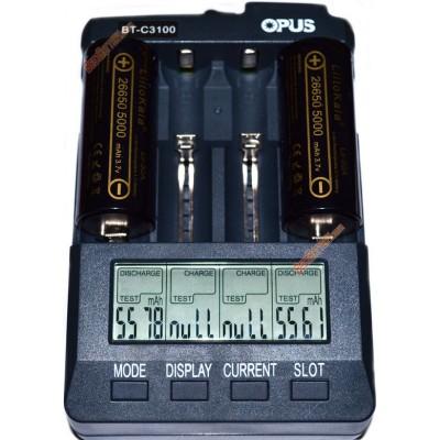 Li-Ion аккумулятор 26650 Liitokala Lii-50A 5000 mAh без защиты, 10A (25A).
