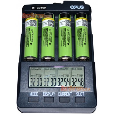 Li-Ion аккумулятор 18650 Liitokala 3400 mAh с защитой на 3.7V (Lii-34B PCB Protected).