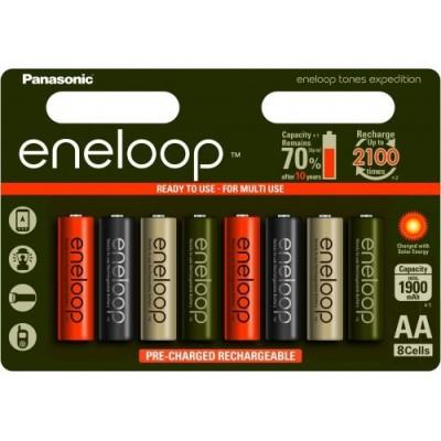 АА аккумуляторы Panasonic Eneloop Expedition 2000 mAh (min 1900 mAh). Цена за уп. 8 шт.