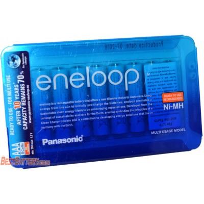 Panasonic Eneloop 800 mAh (min 750 mAh) BK-4MCCE 8LE - минипальчиковые аккумуляторы Eneloop в блистере. Цена за уп. 8 шт.