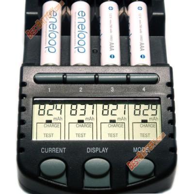 Минипальчиковые ААА аккумуляторы Panasonic Eneloop 800 mAh (min 750 mAh) BK 4MCCE. Япония. Цена за 1 шт.
