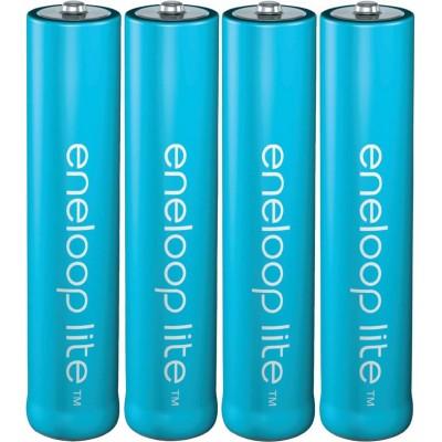 AAA аккумуляторы Panasonic Eneloop Lite 600 mAh (min 550 mAh) поштучно. 3000 циклов заряд/разряд. Цена за 1 шт.