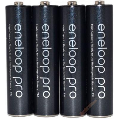 Минипальчиковые аккумуляторы Panasonic Eneloop Pro 980 mAh (min 930 mAh) BK-4HCDE поштучно. Цена за 1 шт.