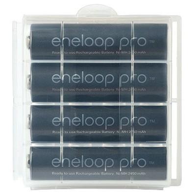 Panasonic Eneloop Pro 2600 mAh BK-3HCDE (min. 2500 mAh) новое поколение аккумуляторов Eneloop Pro. Цена за уп. 4 шт.