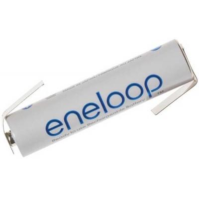 Минипальчиковые аккумуляторы Panasonic Eneloop 800 mAh (min 750 mAh) BK-4MCCE c лепестками (под пайку). Цена за 1 шт.