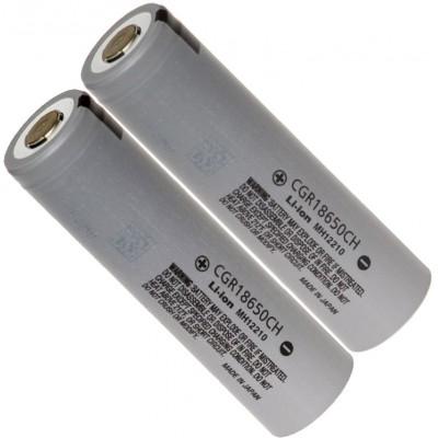 Li-Ion высокотоковый IMR аккумулятор Panasonic CGR18650CH ёмкостью 2250 mAh без защиты. Япония.