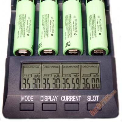 Аккумуляторная сборка на 13600 mAh 7,4В (2S4P) на базе аккумуляторов 18650 Panasonic NCR18650B.