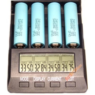 Li-Ion промышленный аккумулятор Samsung INR 18650 32E ёмкостью 3200 mAh без платы защиты.