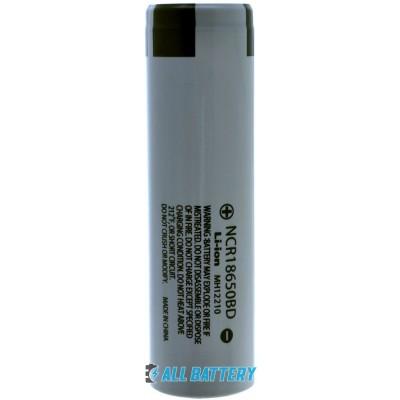 Panasonic NCR18650BD 3200 mAh, 10А. Без защиты (промышленный). Оригинал.