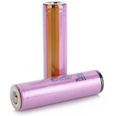 Li-Ion аккумулятор Samsung ICR 18650 26H с защитой (Protected) ёмкостью 2600 mAh.