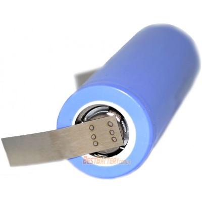 Li-Ion аккумулятор Samsung 36G 3600 mAh 3.7V 18650 с лепестками для пайки (Solder Tags).