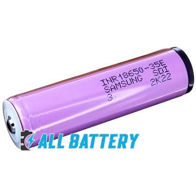 Аккумулятор 18650 Samsung INR18650 35E 3500 mAh Li-ion 3.7V, 8А. С защитой. Оригинал - Korea.