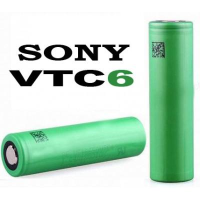 Li-Ion аккумулятор Sony / Murata US18650 VTC6 3120 mAh 30A (до 80А). Высокотоковый. Оригинал.