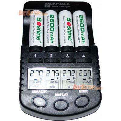 АА аккумуляторы Soshine 2600 mAh RTU в боксе. Низкосаморазрядные аккумуляторы формата АА. Цена за уп. 4 шт.