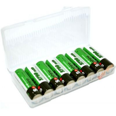 АА аккумуляторы Soshine 2700 mAh поштучно, повышенная ёмкость для энергоёмких устройств. Цена за 1 шт.