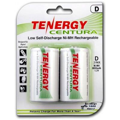 Аккумуляторы размера D (R20) Tenergy Centura LSD на 8000 mAh (Ni-Mh). Низкосаморазрядные. Цена за 1 шт.