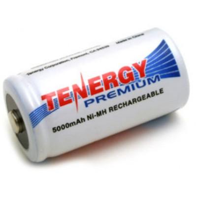 Аккумуляторы размера С (R14) Tenergy Premium на 5000 mAh (Ni-Mh). Высокая ёмкость. Цена за 1 шт.