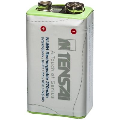 Tensai Крона 9.6V 270 mAh - для самых энергоёмких устройств.