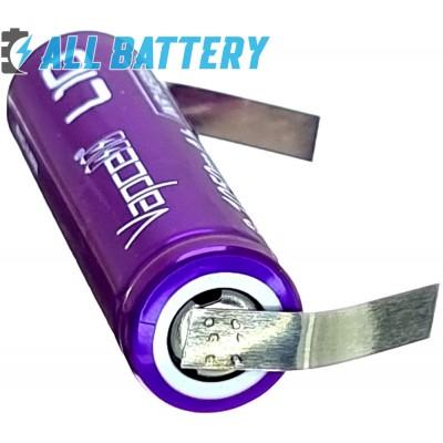 Аккумулятор 14500 (AA) Vapcell L10 1050 mAh Li-Ion INR 3.7В, 3А. С лепестками под пайку (Solder Tags).