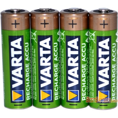 Varta Endless 2500 mAh Recharge Accu LSD в пластиковом боксе (AA). Цена за уп. 4 шт.
