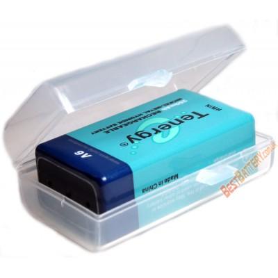 Пластиковый бокс Soshine для хранения и транспортировки аккумуляторов Крона (SBC-013).
