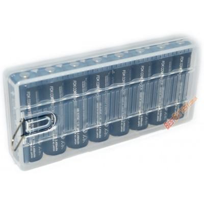 Пластиковый бокс на 8 пальчиковых АА аккумуляторов.