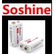 Аккумуляторы Крона фирмы Soshine.
