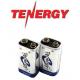 Аккумуляторы типа Крона от американского производителя корпорации Tenergy.