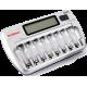 Многоканальные зарядные устройства на 6, 8, 12 и 16 аккумуляторов.