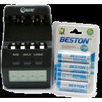 Комплекты: зарядное + аккумуляторы (54)