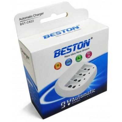 Комплект со скидкой: Beston BST-C822 + 4 Li-ion аккумулятора Крона на 600 mAh.