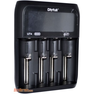 Зарядное устройство DLY Full UT4 на 4 Ni-Mh, Ni-Cd, Li-ion и LiFePO4 аккумулятора с функцией Power Bank.