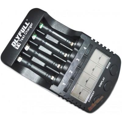 Зарядное устройство DLY Full T1 и 4 пальчиковых аккумулятора Panasonic Eneloop 2000 mAh (BK 3MCCE) в боксе.