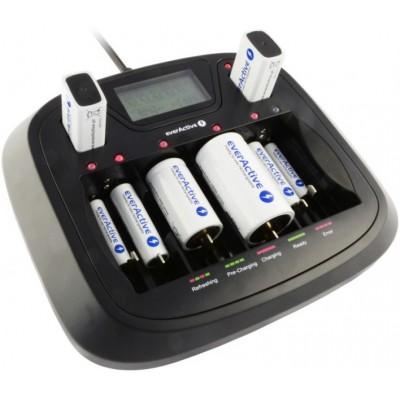 Универсальное зарядное устройство для Ni-Cd/Ni-MH аккумуляторов Ever Active NC 900U.
