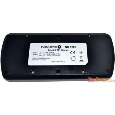 Зарядное устройство на 12 аккумуляторов Ever Active NC 1200 с Автоадаптером. Для АА и ААА (Ni-Mh, Ni-Cd).